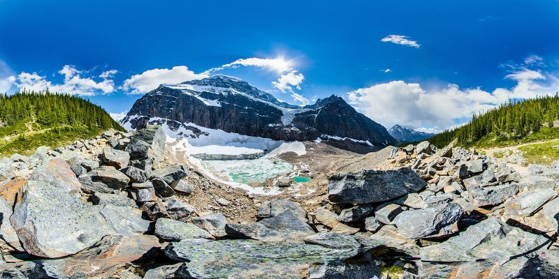 Mount Edith Cavell by fotofoto.ca