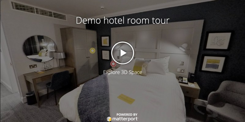 Demo Hotel Bedroom Tour