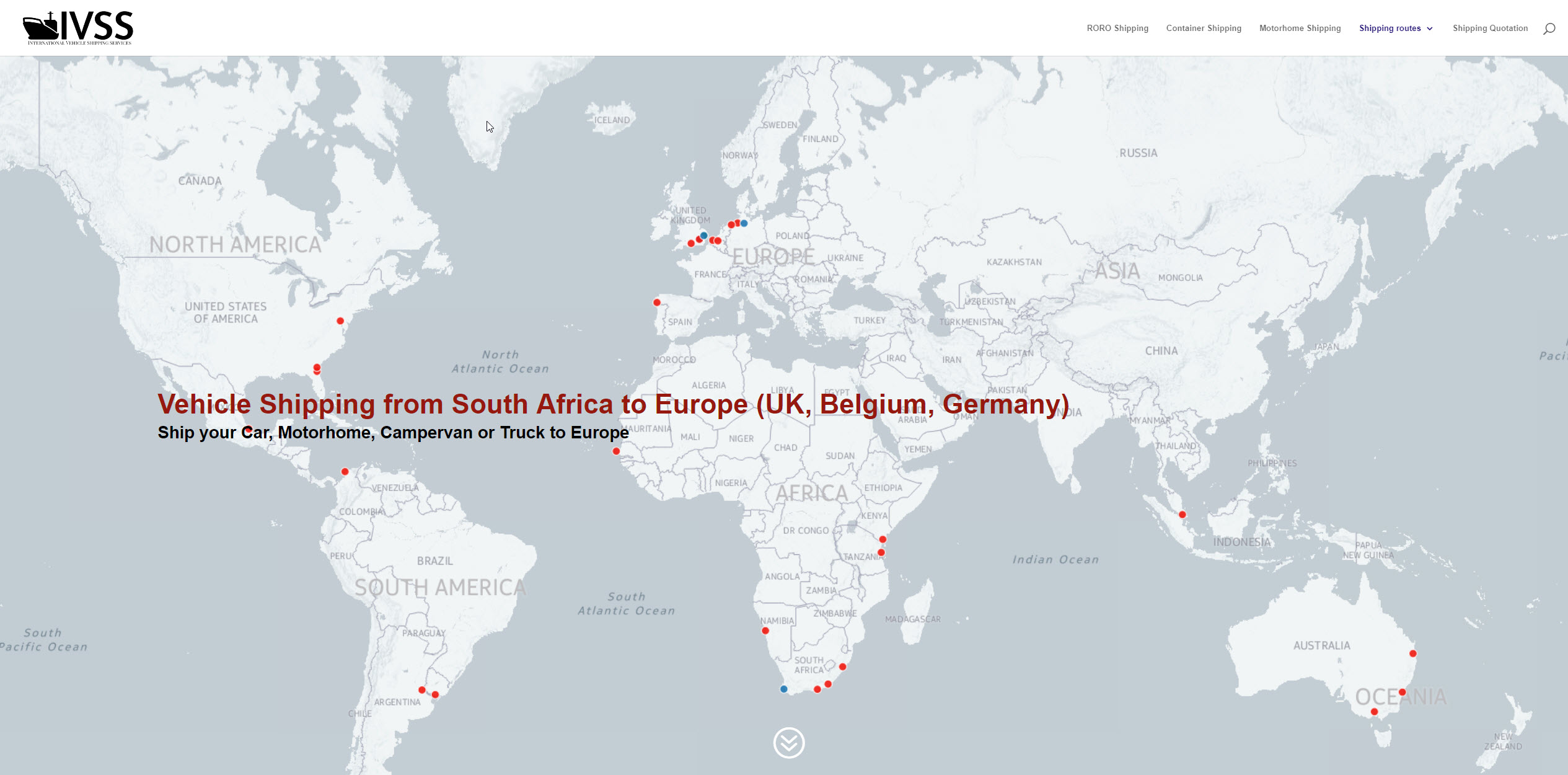 Vehicle Shipping from South Africa to Europe (UK, Belgium