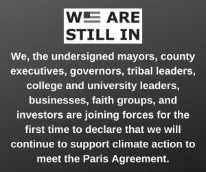 Graphic of We Are Still In declaration