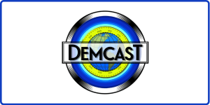 DemCast Logo w/ Border