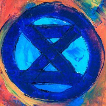 Climate crisis extinction symbol