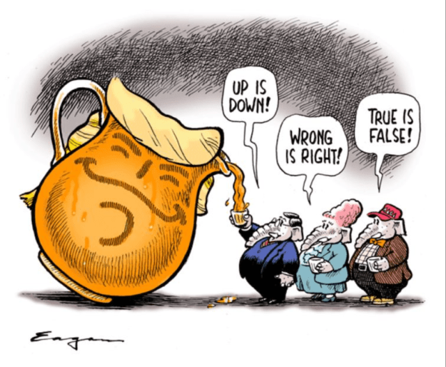 "Editorial cartoon about GOP ""drinking the Kool-Aid"" by Tim Eagen"