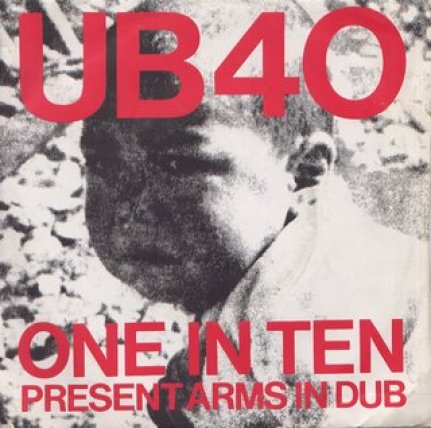 "UB40 ""One in Ten"" track cover for Covid post"