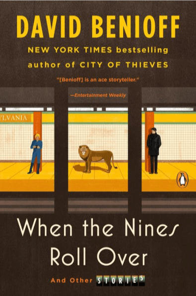 """Graphic of cover of """"When the Nines Roll Over"""""""
