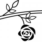 つるバラ一輪咲き