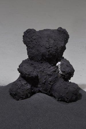 Black Bear with Gem