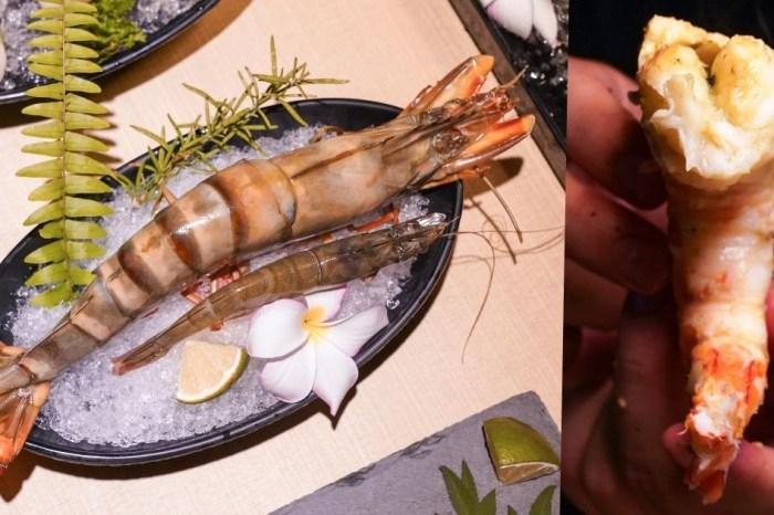 糧薪客棧  沙鹿隱藏版燒肉店,超猛進擊巨蝦簡直可以媲美龍蝦肉,食材不輸知名燒肉店!