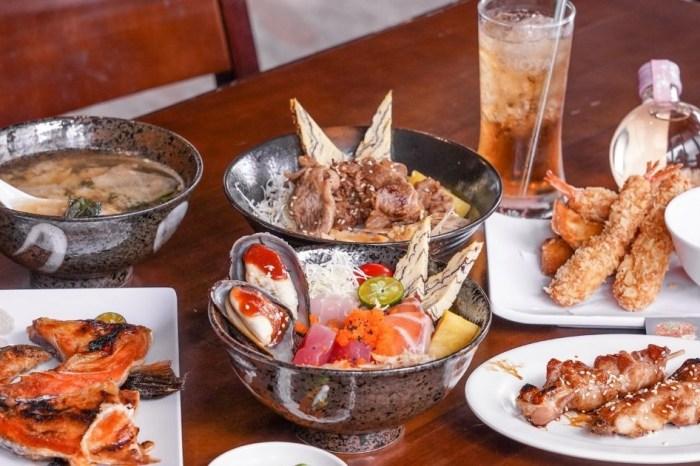 泉香和風食堂  台中十甲新光黃昏市場旁的平價日式料理,丼飯竟然只要79元起!