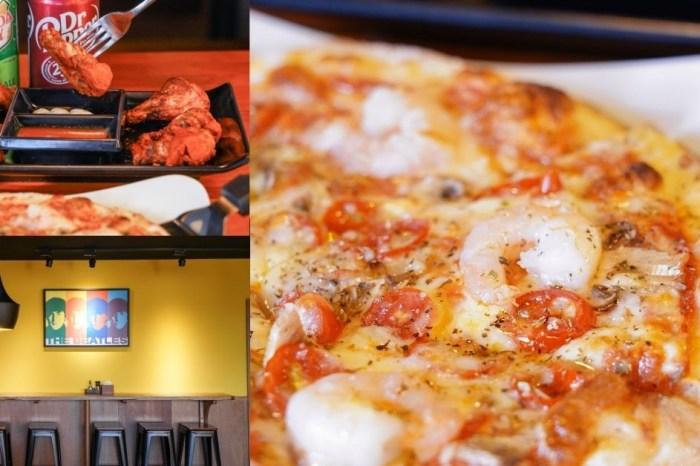 搖滾披薩Pizza Rock  台中大里美食,義式披薩口味多達23種,還能客製化,就連三明治、焗烤也都有~