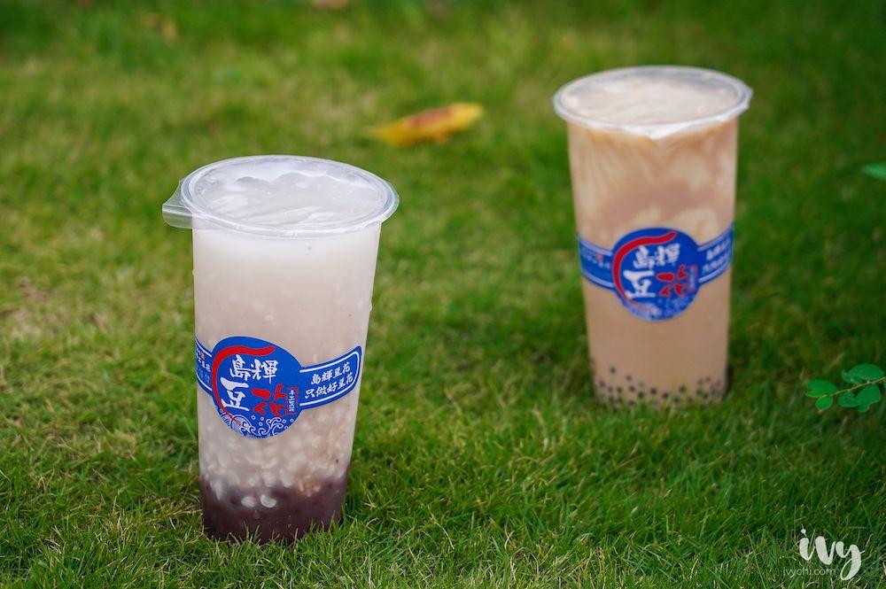 島輝豆花 台中太平育才店  50年代的古早味豆花加入珍珠奶茶挑戰你們的味蕾,就算滿滿配料也只要50元!