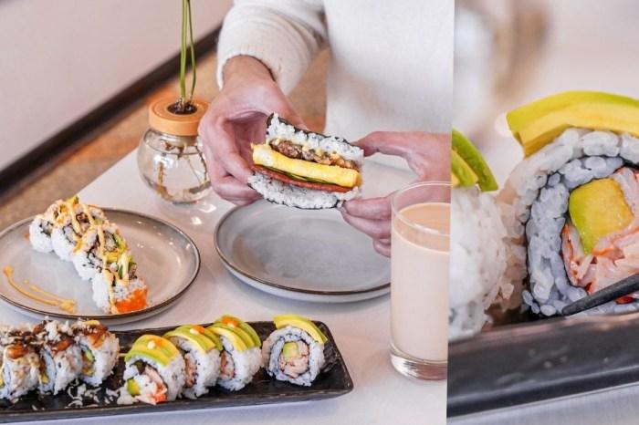 稻訪  台中西屯加州卷專賣店,必點酪梨、鰻魚炸蝦口味,還有飯糰米Q料實在!