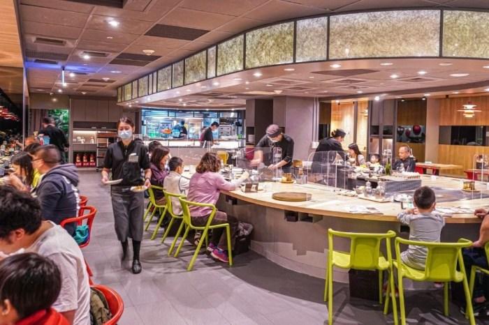 hot 7 新鐵板料理  全台僅有台中3門市!只要239元起享蔬菜、飲料、豬油拌飯無限放題,套餐還附湯品、甜點,超高CP值!