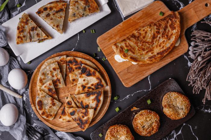 良品開飯三星咬一口蔥餅全餐 ,超酥脆的宜蘭三星蔥油餅、蔥抓餅、蔥鴨餅在家5分鐘就能吃!