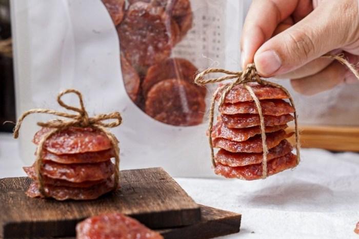 水根肉乾  中秋禮盒推薦,想吃烤肉就吃台味醬燒肉乾,聯名百年新和春醬油,彰化60年伴手禮團購就對了!