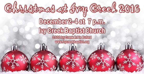 Christmas at Ivy Creek 2016