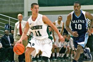 Alex Mitola and the Big Green have a chance to jumpstart its season against Maine Saturday.