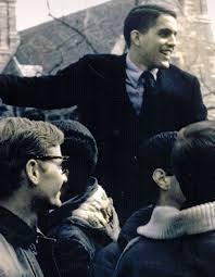 Gary Walters and his classmates celebrate Princeton's Final Four bid in 1965.(paw.princeton.edu)