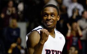 Tony Hicks was a two-time All-Ivy honorable mention and reached the 1,000-point plateau in February. (USA Today Images)