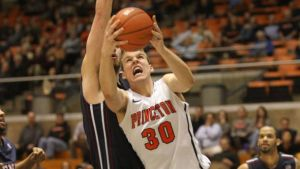 Hans Brase posted five double-doubles for the Tigers last season.