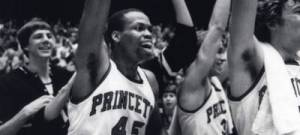 Craig Robinson was the first two-time recipient of the Ivy Player of the Year award. (Princeton Athletics)