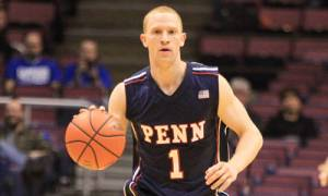 Zack Rosen averaged 14.7 points, 5.0 assists, 3.3 rebounds and 1.3 steals per game during his Penn career. (Penn Athletics)