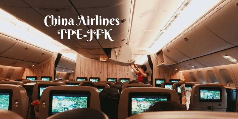 China Airlines TPE-JFK