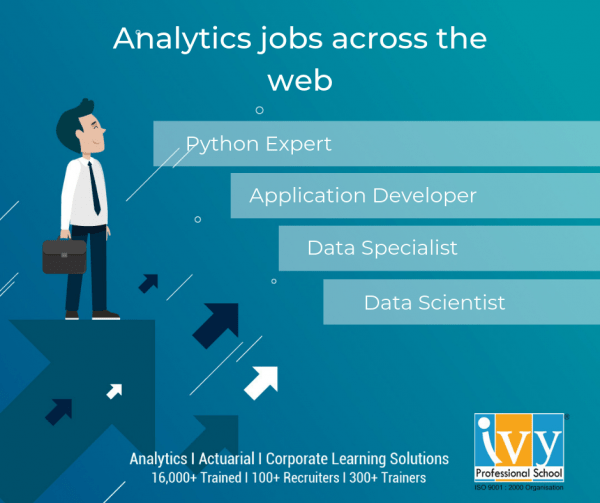 List of Analytics jobs for freshers