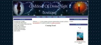 Goddess Of Divine Light Boutique