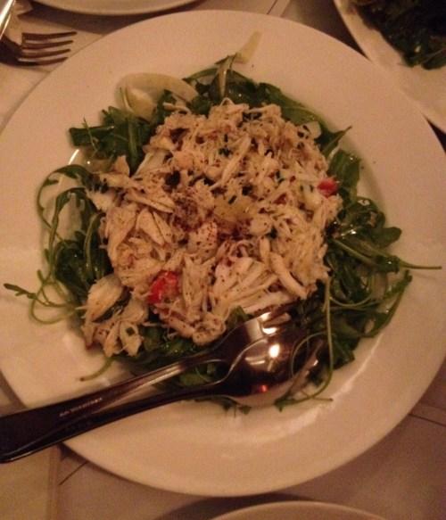 Prune Bistro King Crab salad