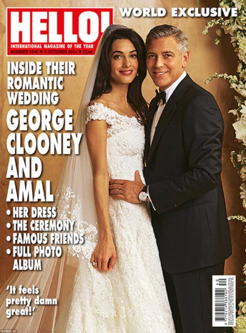 amal and george clooney wedding photo