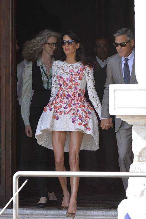 Amal in Giambattista Valli Haute 2