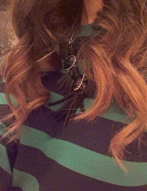 Ivy Says Georges El Mendelek  Sombre hair L'oreal