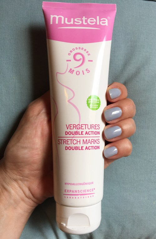 Mustela Double Action review strech marks