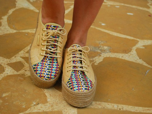 Ivy says superga sneakers raffia gala