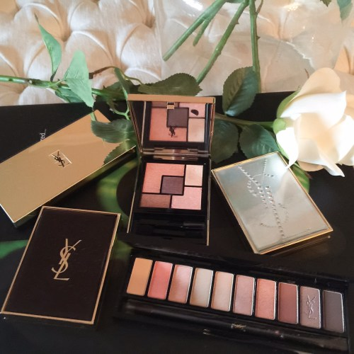 YSL makeup ivy says beauty couture kajal eye shadows