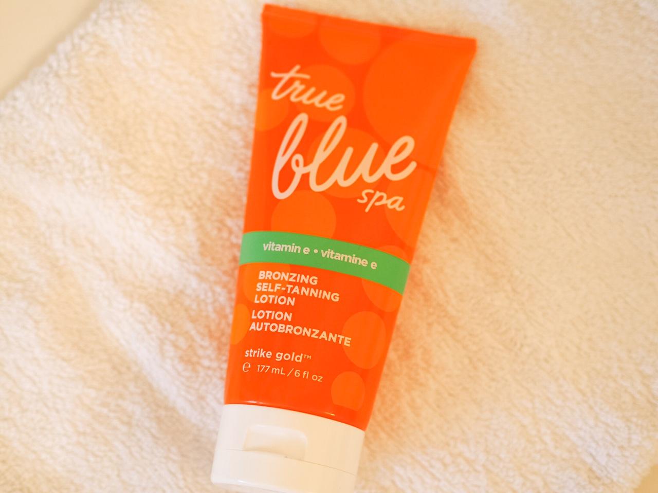 True Blue Spa bath and body works