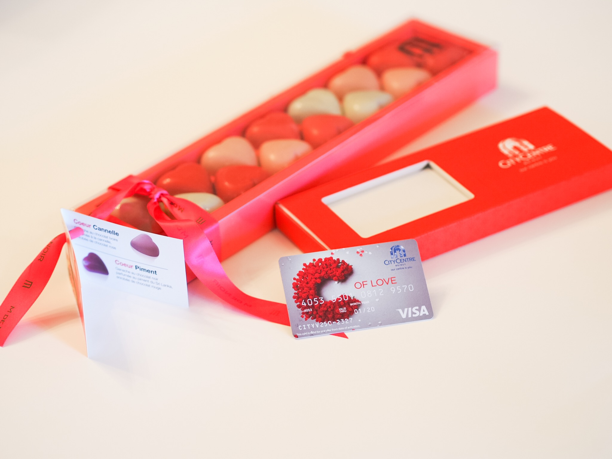 city centre gift card valentines day