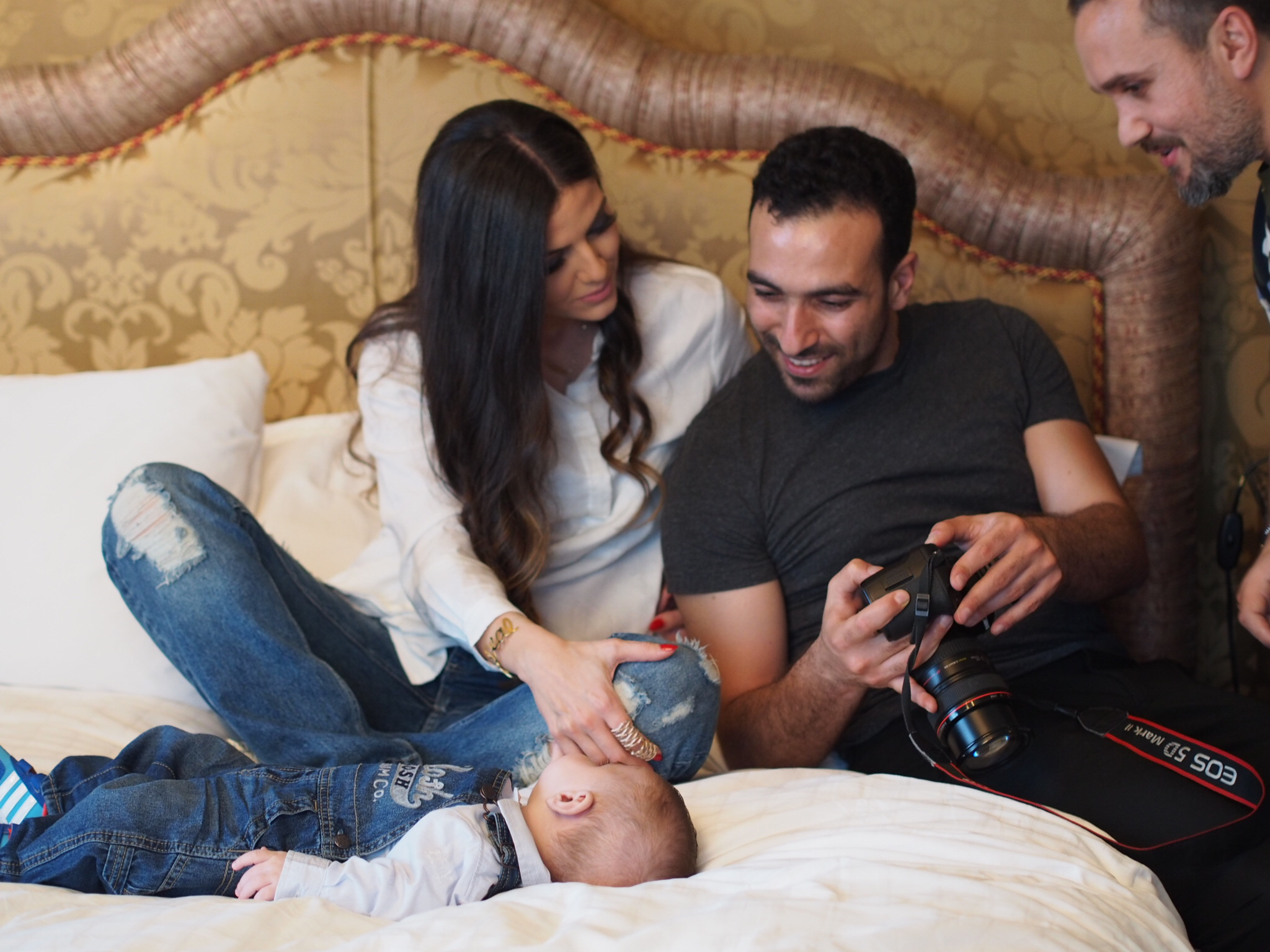 mothers day bassam fattouhh behind teh scenes shoot ivy says