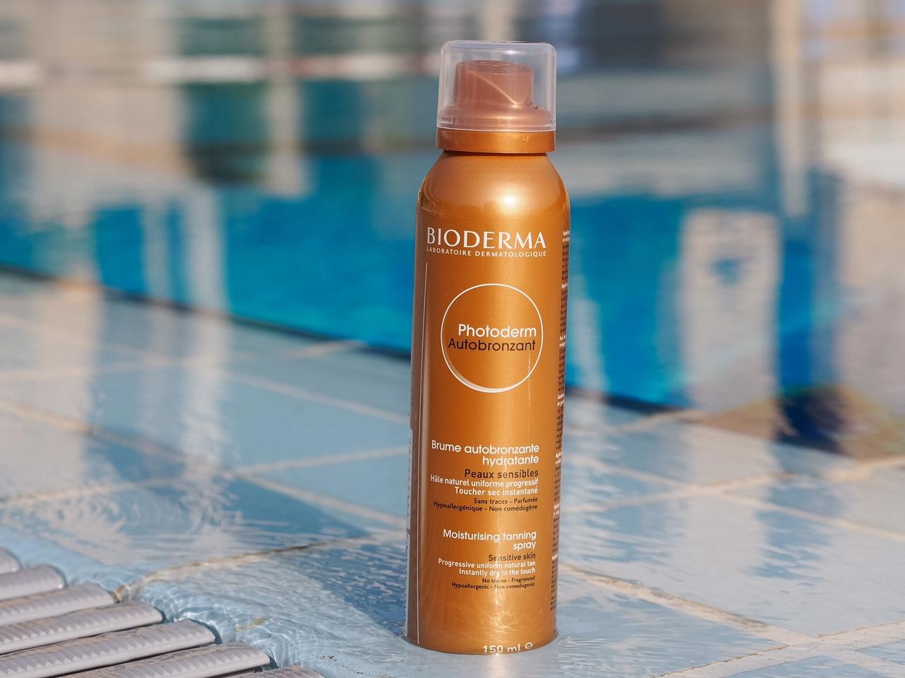 , Bioderma Photoderm Autobronzant Moisturising Tanning Spray