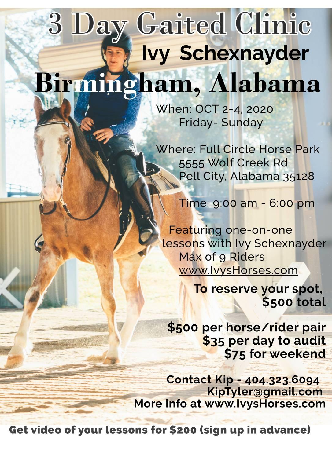 2020 Alabama horse clinic 2