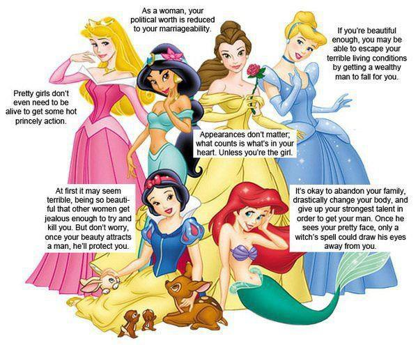 Bad Lessons from Disney