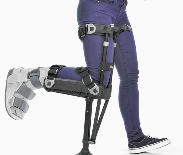Iwalkfree Hands Free Crutch For Walking Better Than Crutches Or Knee Scooters