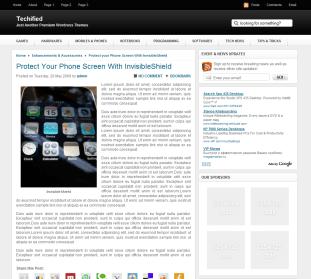 Plantilla WordPress Gratis Techified