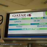 My Qatar Airways Experience, Part 2 (Doha to Tbilisi)