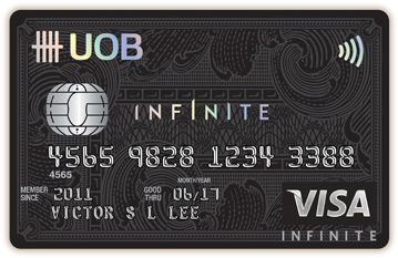 uob visa infinite