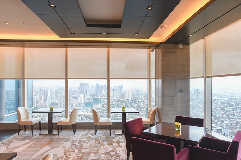 club lounge grand hyatt manila