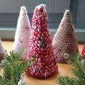 χριστουγεννιάτικα δεντράκια με βελονάκι