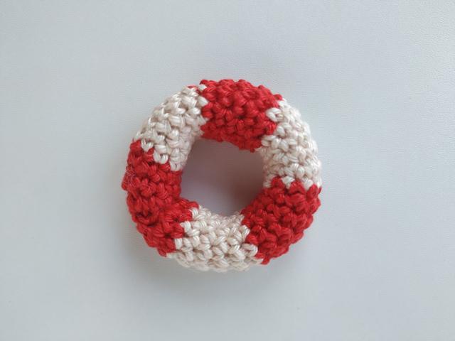crocheted lifebuoy