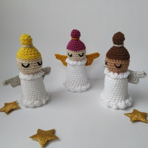 crocheted little angels